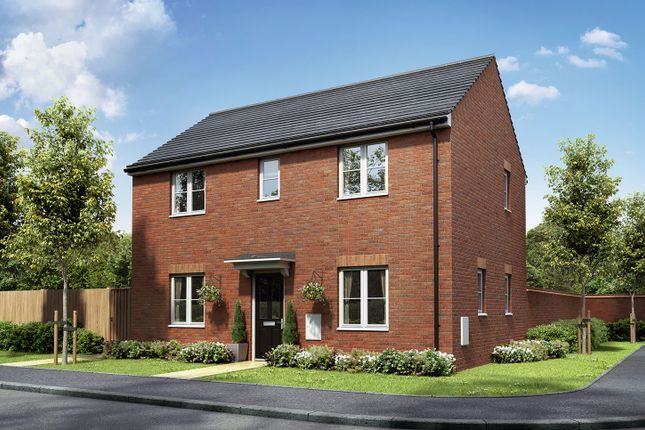 "Thumbnail Detached house for sale in ""The Mountford"" at Badgers Chase, Retford"