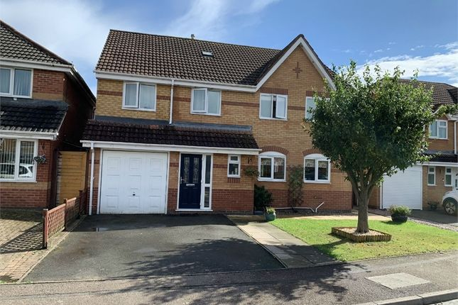 Thumbnail Detached house for sale in Harvest Way, Broughton Astley, Leicester
