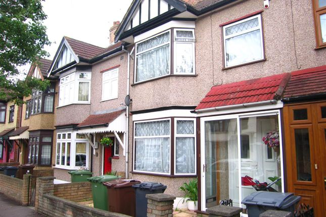 Thumbnail Terraced house to rent in Woodlands Avenue, Chadwell Heath, Romford