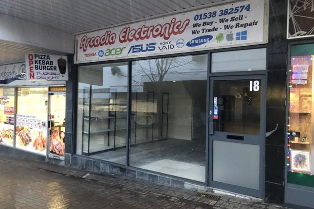 Thumbnail Retail premises to let in Unit 18, Smithfield Centre, Leek