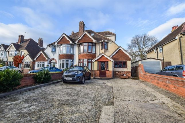 Thumbnail Semi-detached house for sale in Shrub End Road, Colchester, Essex