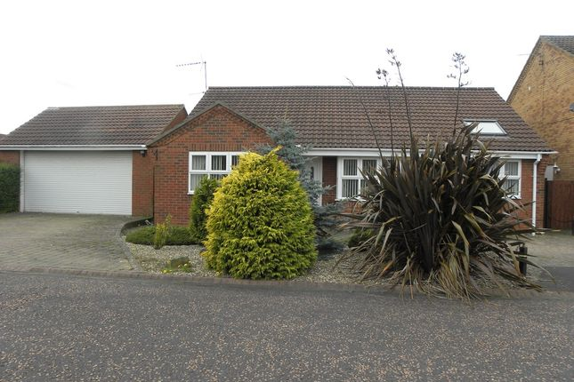 Thumbnail Detached bungalow for sale in Twickenham Court, Seghill, Cramlington