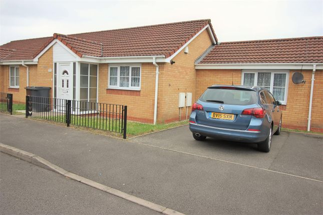Thumbnail Semi-detached bungalow for sale in Marbury Drive, Bilston
