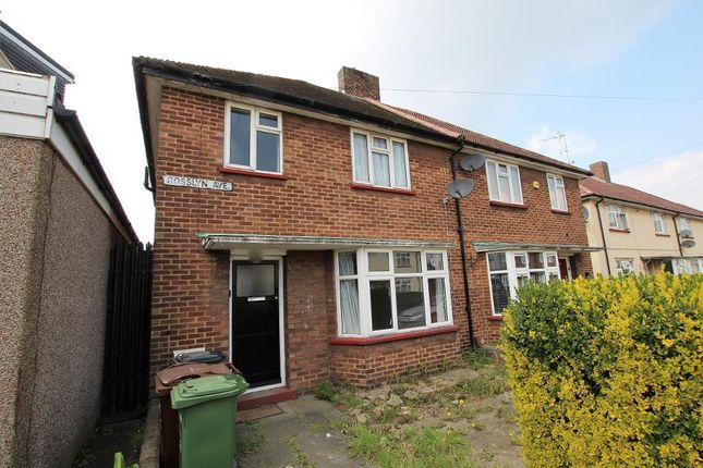 3 bed semi-detached house to rent in Rosslyn Avenue, Dagenham, Essex RM8