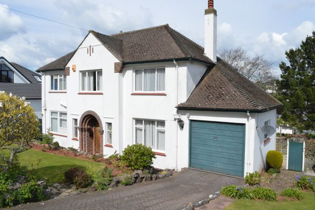 Thumbnail Detached house for sale in 4 Oxlea Road, Lincombes, Torquay
