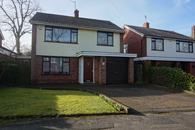 Thumbnail Detached house for sale in Moss Close, Walsall