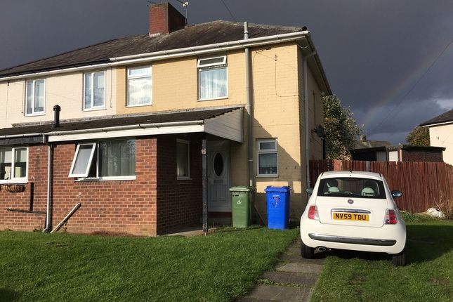 Thumbnail Semi-detached house to rent in Birchwood Close, Seghill, Cramlington
