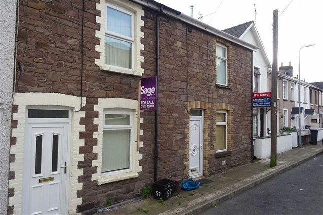 Thumbnail End terrace house to rent in Broad Street, Griffithstown, Pontypool