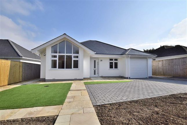 Thumbnail Detached bungalow for sale in Barrs Wood Road, New Milton