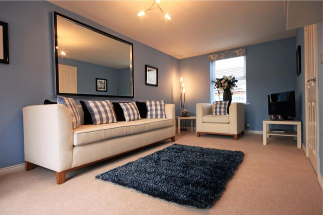 "Thumbnail Semi-detached house for sale in ""Squire"" at Fox Lane, Green Street, Kempsey, Worcester"