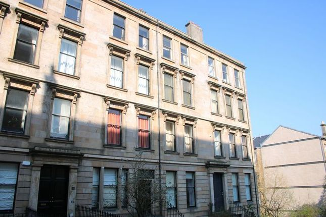Thumbnail Flat to rent in Cecil Street, Hillhead