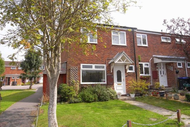 Thumbnail End terrace house to rent in Queens Way, Marlborough