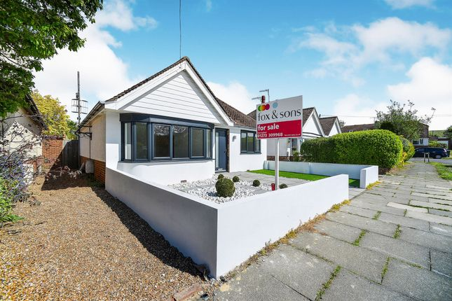 Thumbnail Detached bungalow for sale in Eley Crescent, Rottingdean, Brighton