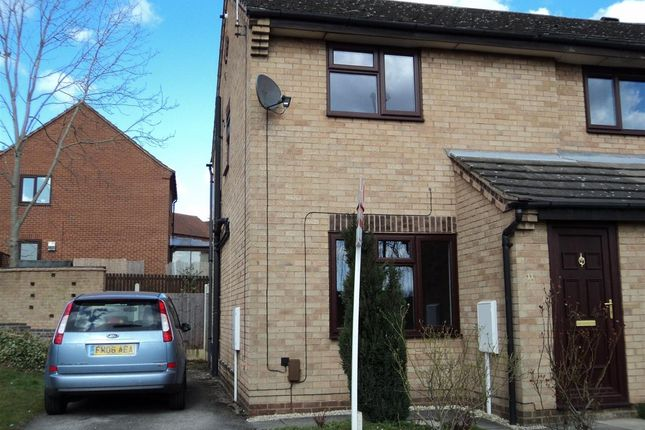 Thumbnail Semi-detached house to rent in Sedgebrook Close, Oakwood, Derby