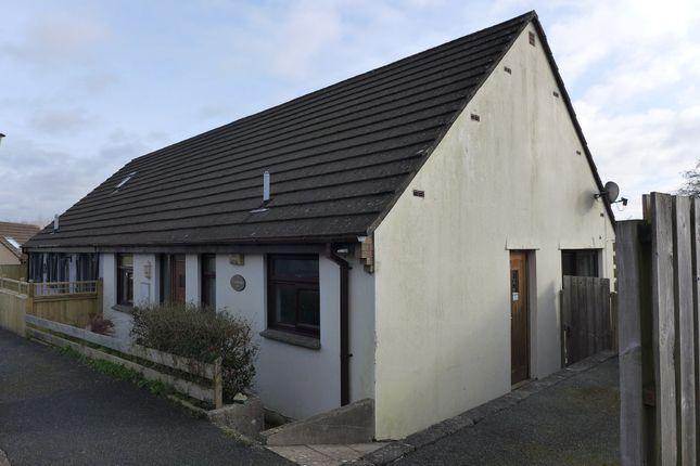 Thumbnail Semi-detached bungalow for sale in Castle High, Haverfordwest