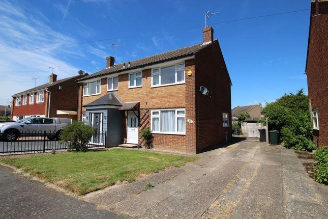 Thumbnail Semi-detached house to rent in Marlborough Way, Kennington, Ashford