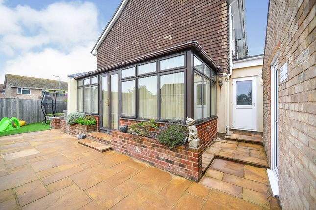 Thumbnail End terrace house for sale in Stanley Road, Telscombe Cliffs, Peacehaven