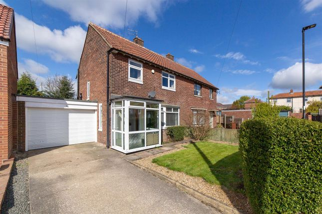 3 bed semi-detached house for sale in Whitgrave Road, Kenton, Newcastle Upon Tyne NE5