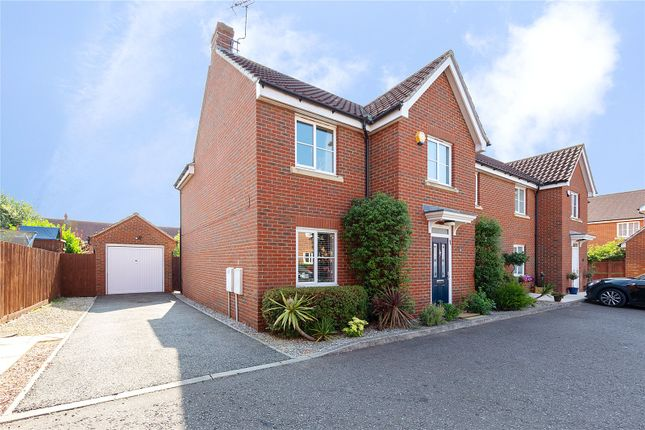 Thumbnail Detached house for sale in Fleetwood Square, Beaulieu Park, Chelmsford, Essex