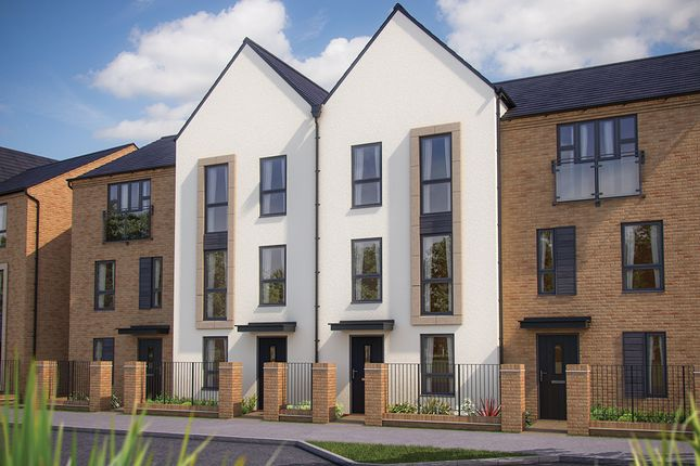 """Thumbnail Town house for sale in """"The Winchcombe"""" at Barrosa Way, Whitehouse, Milton Keynes"""