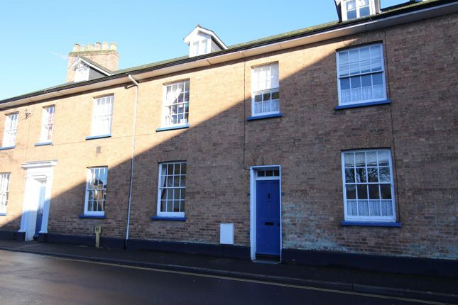 Thumbnail Terraced house to rent in Church Street, Tiverton