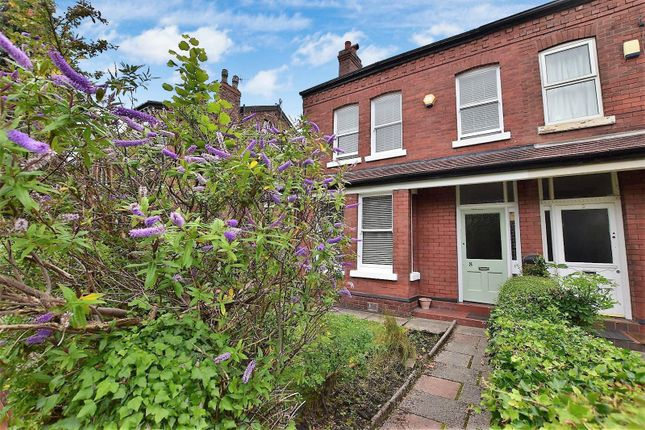 Thumbnail End terrace house for sale in Alan Road, Withington, Manchester
