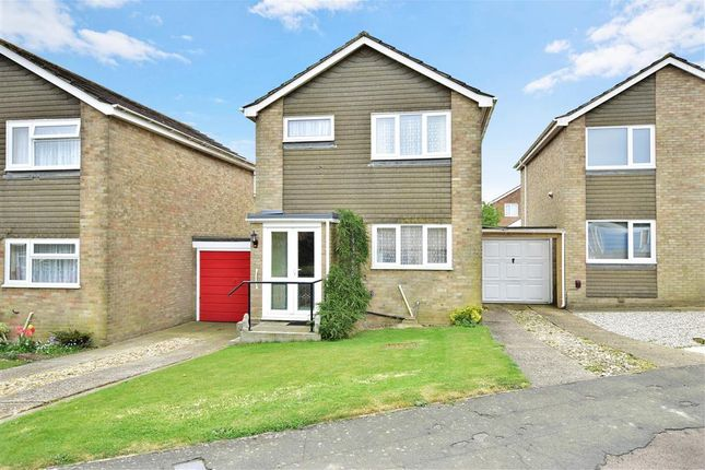 3 bed link-detached house for sale in Downside Road, Whitfield, Dover, Kent