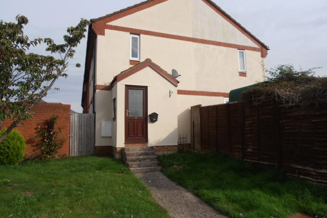 Thumbnail End terrace house to rent in Blenheim Park, Bowerhill, Melksham