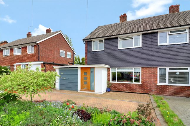 Thumbnail Semi-detached house for sale in The Crescent, Abbots Langley