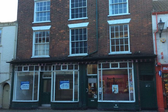 Thumbnail Commercial property for sale in High Street, Bridlington, E Yorkshire