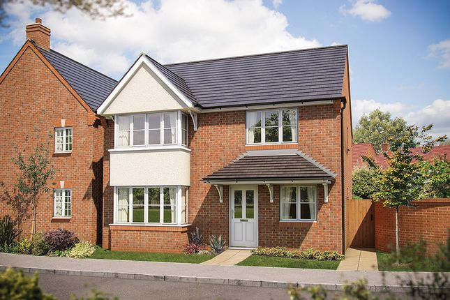 "Thumbnail Detached house for sale in ""The Canterbury"" at Heron Way, Edleston, Nantwich"
