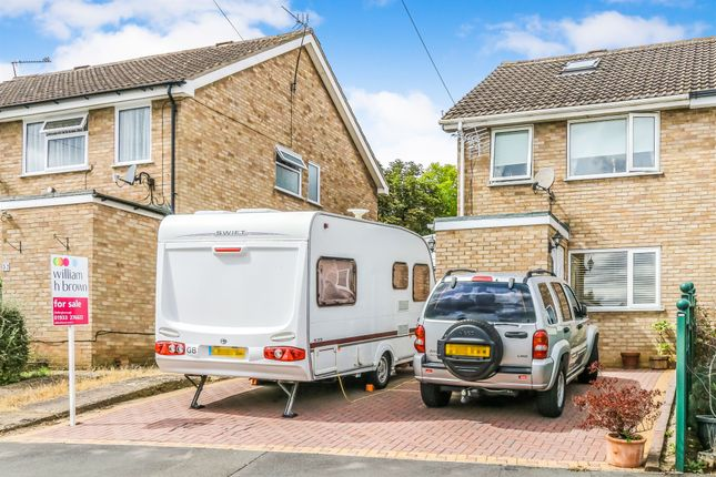 Thumbnail Semi-detached house for sale in Wantage Road, Irchester, Wellingborough