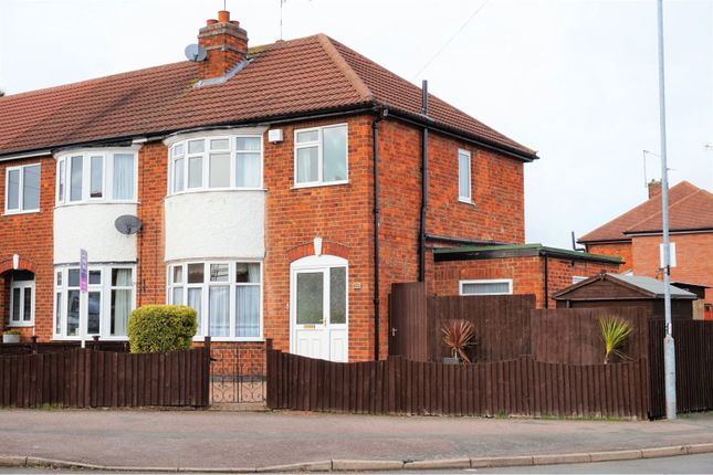 Thumbnail End terrace house for sale in Turnbull Drive, Braunstone Town