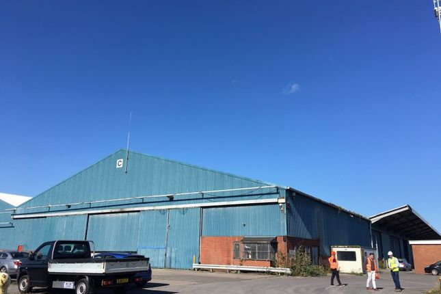 Thumbnail Land to let in Shed C, Port Of Barry, Atlantic Way, Barry