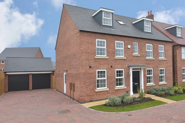 "Thumbnail Detached house for sale in ""Buckingham"" at Nottingham Road, Barrow Upon Soar, Loughborough"
