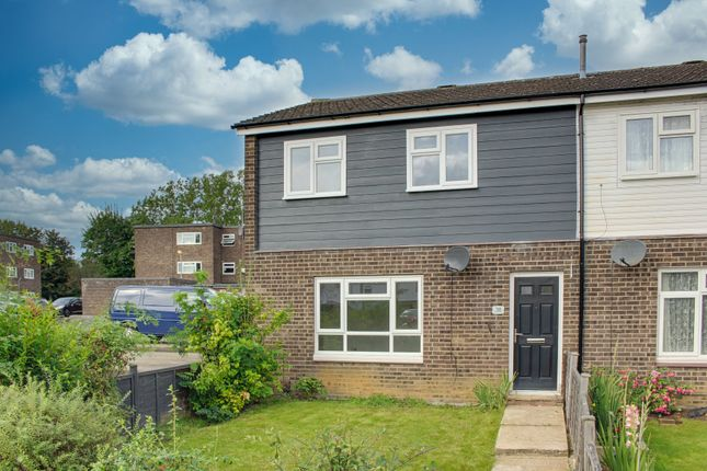 3 bed end terrace house for sale in Marchioness Way, Eaton Socon, St. Neots PE19
