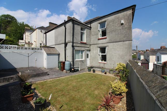 Thumbnail End terrace house for sale in Park Road, Mannamead, Plymouth