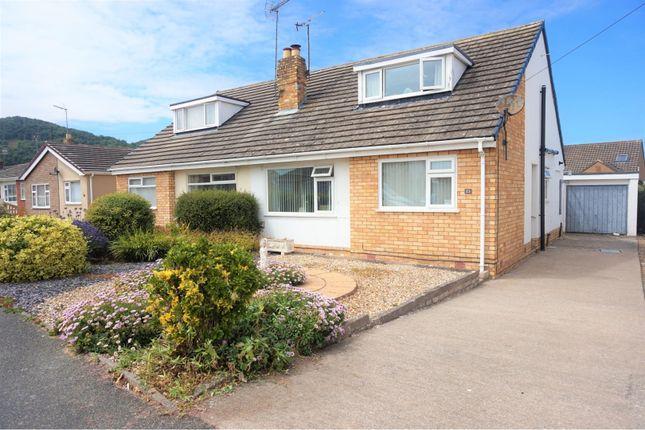 Thumbnail Semi-detached bungalow for sale in Lon Garnedd, Abergele