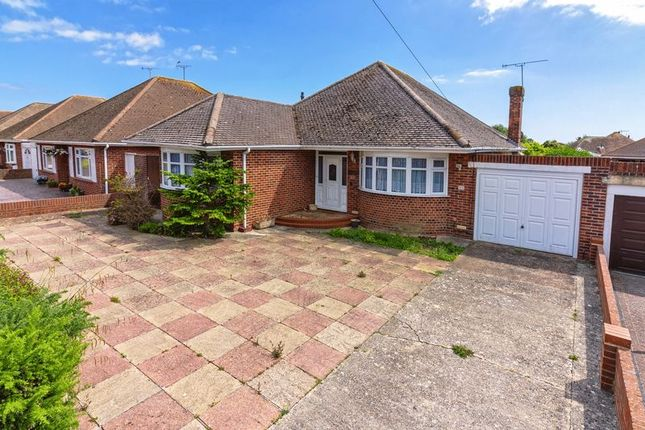 Thumbnail 3 bed bungalow for sale in Alinora Crescent, Goring-By-Sea, Worthing