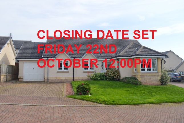 Thumbnail Detached bungalow for sale in David Hume View, Chirnside, Duns