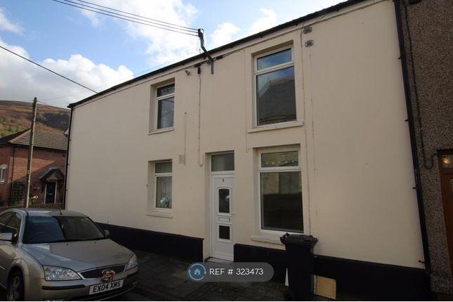 Thumbnail End terrace house to rent in Poplar Street, Tydfil