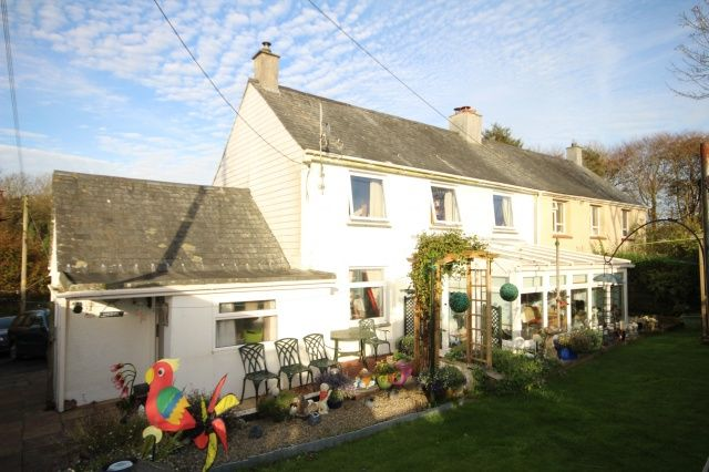 Thumbnail Semi Detached House For Sale In Davidstow Camelford
