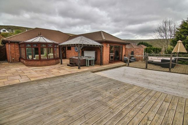 Thumbnail Detached bungalow for sale in Gwaun Delyn Close, Nantyglo, Ebbw Vale