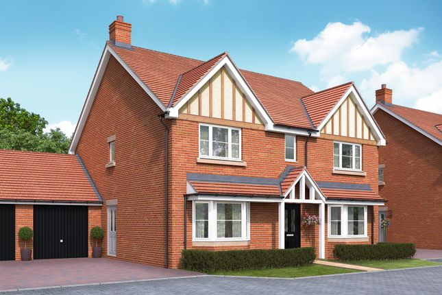 "Thumbnail Detached house for sale in ""The Attingham"" at Bromham Road, Bedford"