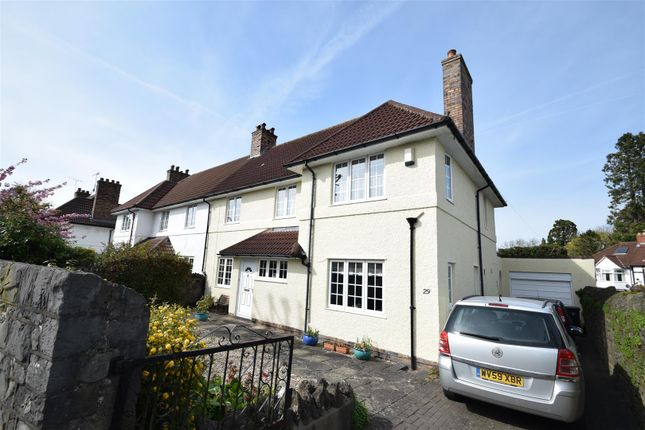 Thumbnail Semi-detached house for sale in Southmead Road, Westbury-On-Trym, Bristol