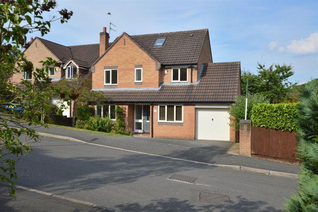 Thumbnail Detached house for sale in Woodlea Grove, Little Eaton, Derby