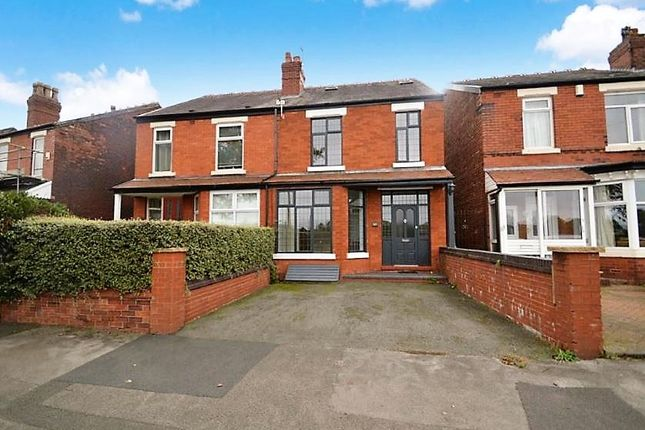 Thumbnail Semi-detached house for sale in Woodsmoor Lane, Woodsmoor, Stockport