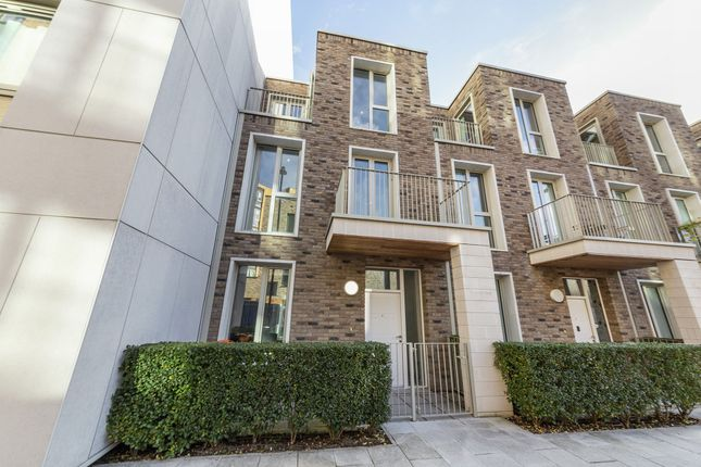 Thumbnail Terraced house to rent in Starboard Way, Royal Wharf, London