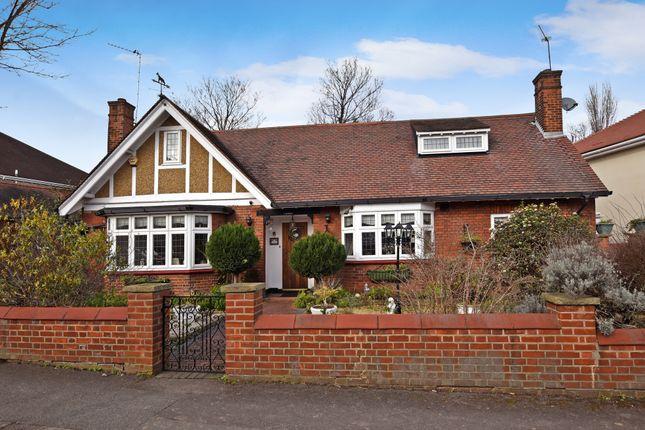Thumbnail Detached bungalow for sale in The Avenue, London