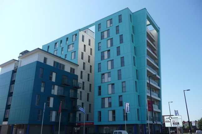 Thumbnail Flat to rent in Vista Apartments, Fratton Way, Portsmouth